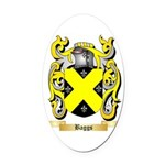 Baggs Oval Car Magnet