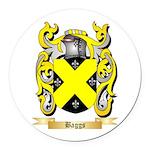 Baggs Round Car Magnet
