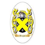 Baggs Sticker (Oval 10 pk)