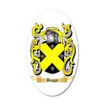 Baggs 35x21 Oval Wall Decal