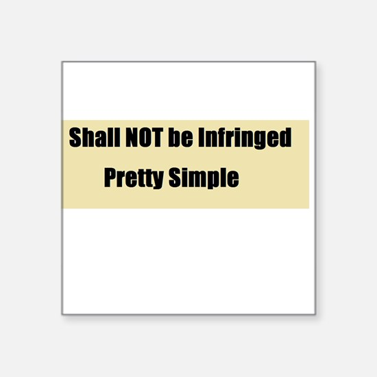 Shall not be infringed Sticker