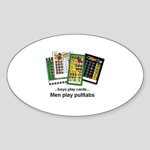 Men Play Pulltabs