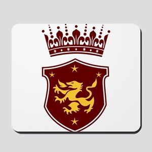 Shield and Crown Mousepad