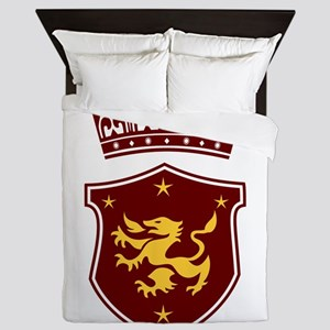 Shield and Crown Queen Duvet