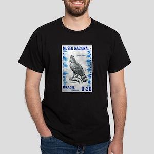Vintage 1968 Brazil Eagle Postage Stamp T-Shirt