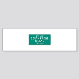 South Padre Island, Texas City Limits Bumper Stick