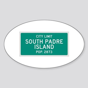 South Padre Island, Texas City Limits Sticker