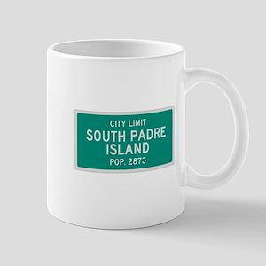 South Padre Island, Texas City Limits Mug