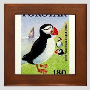 Vintage 1978 Faroe Islands Puffins Postage Stamp F