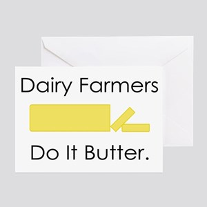Dairy Farmers Do It... Greeting Cards (Package of