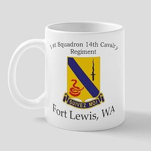 1st Squadron 14th Cavalry Mugs