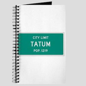 Tatum, Texas City Limits Journal