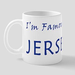 I'm Famous in NJ Mug