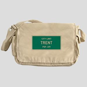 Trent, Texas City Limits Messenger Bag
