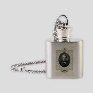 Thomas Edison, US inventor - Flask Necklace