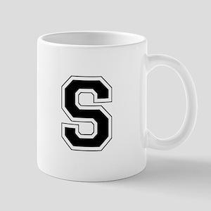 Collegiate Monogram S Mug