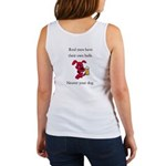 Women's Tank Top - Real Men have their own balls!