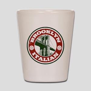 Brooklyn New York Italian Shot Glass