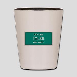 Tyler, Texas City Limits Shot Glass