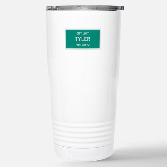 Tyler, Texas City Limits Travel Mug