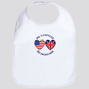 USA / UK Country Heritage Bib