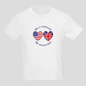 USA / UK Country Heritage Kids Light T-Shirt