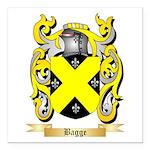 Bagge Square Car Magnet 3