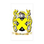 Bagge Sticker (Rectangle 10 pk)
