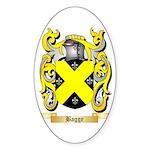 Bagge Sticker (Oval 50 pk)