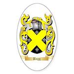 Bagg Sticker (Oval 50 pk)