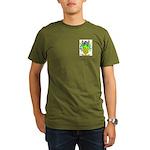 Baez Organic Men's T-Shirt (dark)