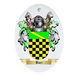 Baez Ornament (Oval)