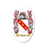 Baeck 35x21 Oval Wall Decal