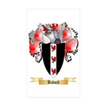 Badock Sticker (Rectangle 50 pk)