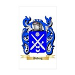 Bading Sticker (Rectangle 10 pk)
