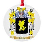 Badillo Round Ornament