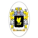 Badillo Sticker (Oval 50 pk)