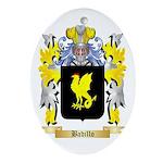 Badillo Ornament (Oval)