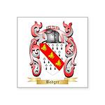 Badger Square Sticker 3