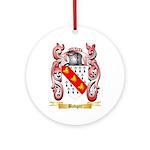 Badger Ornament (Round)