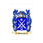 Badenius Sticker (Rectangle 10 pk)