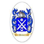 Baden Sticker (Oval 50 pk)
