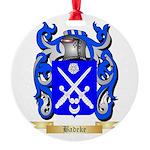 Badeke Round Ornament