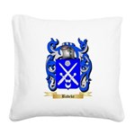 Badeke Square Canvas Pillow