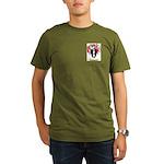 Badcock Organic Men's T-Shirt (dark)
