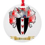 Badcock Round Ornament