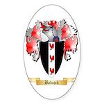 Badcock Sticker (Oval 10 pk)