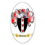 Badcock Sticker (Oval 50 pk)
