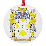 Backus Round Ornament
