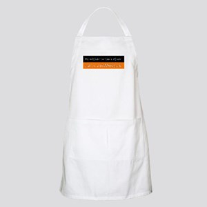 Mother-in-law's Car is a Broomstick BBQ Apron